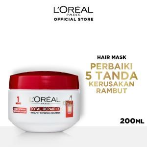Harga L Oreal Paris Smooth Intense Hair Mask Katalog.or.id
