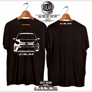 Harga kaos baju mobil toyota calya racing otomotif  gilan | HARGALOKA.COM