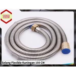 Harga selang fleksible flexible shower mandi cebok air panas bidet | HARGALOKA.COM