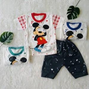 Harga 6 24 bln setelan baju anak laki laki mickey shy   | HARGALOKA.COM
