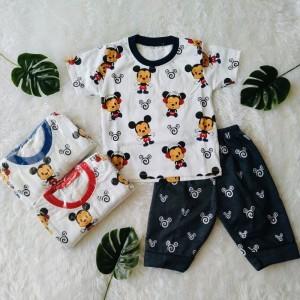Harga 6 24 bln setelan baju anak laki laki motif mickey small   | HARGALOKA.COM