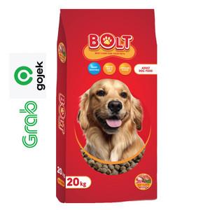 Harga bolt beef adult dog food 20 kg gojek grab   kibble   HARGALOKA.COM