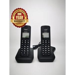 Harga uniden at3100 2 dect 1 8 ghz speaker phone and lcd backlit   HARGALOKA.COM