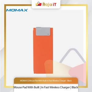 Harga momax q mouse pad with built in fast wireless charger   | HARGALOKA.COM