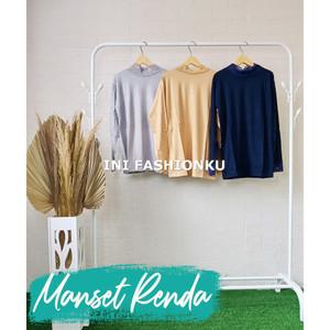 Harga baju manset renda standart daleman kebaya inner kebaya   | HARGALOKA.COM