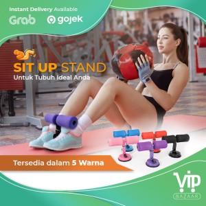Harga yoga sit up stand fitness gym alat bantu olahraga penahan pegangan   | HARGALOKA.COM