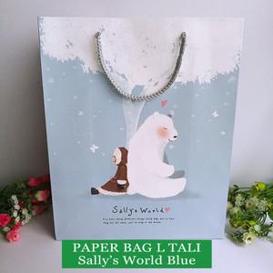 Harga paper bag motif tas kertas kado ulang tahun tali   size l character   sally | HARGALOKA.COM