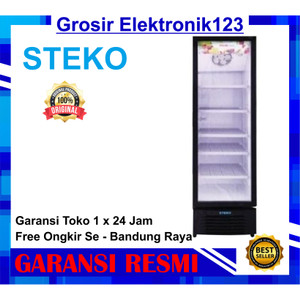 Harga showcase steko mg 300 5 rak display cooler kulkas low watt no | HARGALOKA.COM