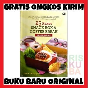 Harga buku baru asli 25 paket snack box amp coffee break harga 15 | HARGALOKA.COM