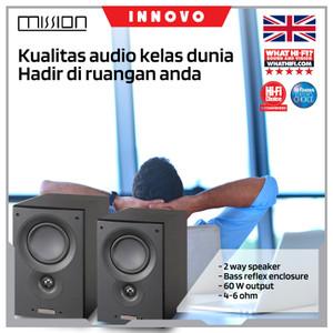 Harga innovo speaker hifi mission vx2 book shelf speakers   | HARGALOKA.COM