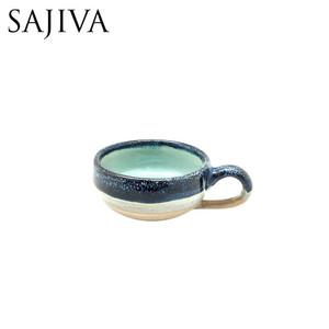 Harga gelas ceramic cappucino medium cup   ocean | HARGALOKA.COM