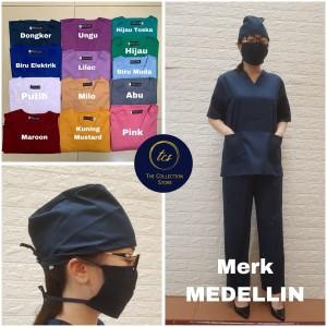 Harga setelan seragam ok baju seragam operasi baju perawat unisex   hijaubotol pndk | HARGALOKA.COM
