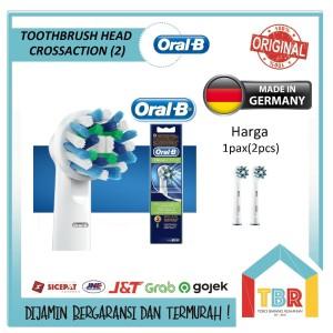 Harga oral b braun head refill kepala sikat gigi   cross action isi   HARGALOKA.COM