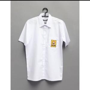 Harga seragam sekolah baju putih smp lengan pendek   | HARGALOKA.COM
