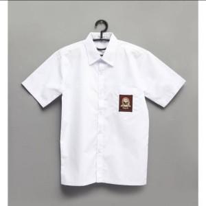 Harga seragam sekolah baju sma putih lengan pendek   | HARGALOKA.COM