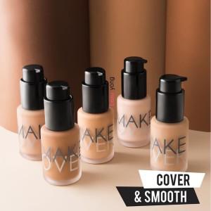 Harga make over ultra cover liquid matt foundation makeover   | HARGALOKA.COM