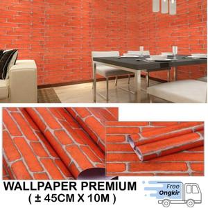 Harga Wps068 Bata Putih One Wallpaper Dinding Walpaper Stiker Dinding Katalog.or.id