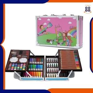 Harga toko 88 mix set alat lukis 145pcs model koper jinjing import   koper | HARGALOKA.COM