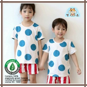 Harga baju anak summer korea baju anak bahan organik simple style   | HARGALOKA.COM