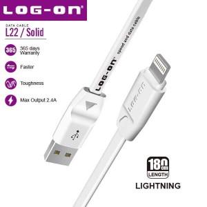 Harga kabel logon l22 1m iphone 5 6 7 8 2   HARGALOKA.COM