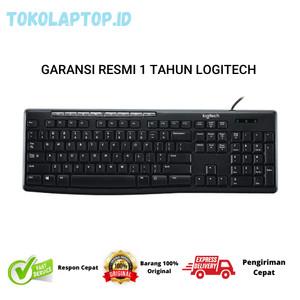 Harga logitech keyboard media k200 usb   resmi 100 | HARGALOKA.COM