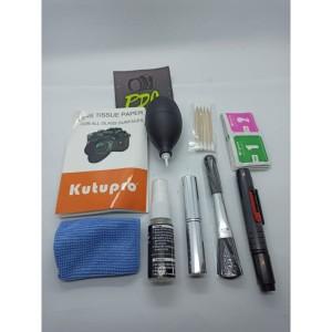 Harga alat pembersih kamera dan lensa profesional cleaning kit canon 9 in   HARGALOKA.COM