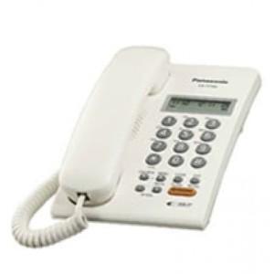Harga panasonic kx t7705   telepon rumah kantor single line telpon | HARGALOKA.COM