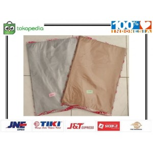 Harga kantong plastik tebal packing online shop 35x55 cm shopping | HARGALOKA.COM