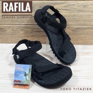 Harga sandal gunung rafila sandal gunung pria warna hitam   | HARGALOKA.COM