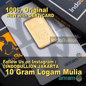Harga lm emas antam 10 gram logam mulia | HARGALOKA.COM