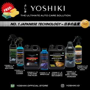 Harga yoshiki paket komplit pembersih interior body velg mesin motor | HARGALOKA.COM