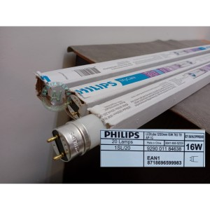 Harga lampu philips tl ecofit ledtube putih 1200mm 16w 765 t8 tanpa | HARGALOKA.COM