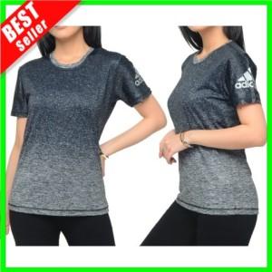 Harga new baju wanita running kaos olahraga senam fitness lari training gym   biru muda | HARGALOKA.COM