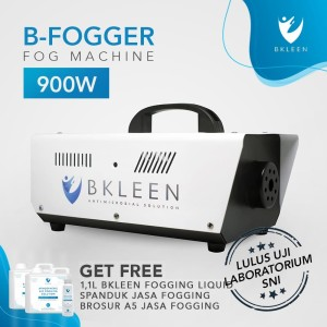 Harga b  fogger mesin fogging mobil rumah disinfectant bkleen 900w   bonus kombo | HARGALOKA.COM