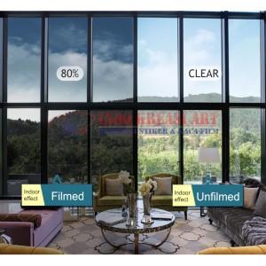 Harga kaca film riben   hitam untuk rumah gedung anti gores uvr premium   40 | HARGALOKA.COM