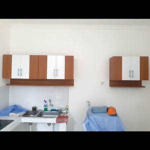 Harga rak piring cantik lemari gantung dapur kitchenset atas | HARGALOKA.COM
