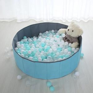 Harga mainan anak kolam bola murah softplay wm 19070   biru   HARGALOKA.COM