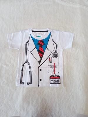 Harga baju anak laki laki dokter pemadam pilot poiisi kaos atasan profesi   dokter | HARGALOKA.COM
