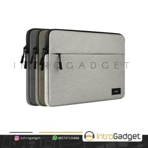 Harga tas laptop macbook pro air retina sleeve case bag cover   light grey 11 12 | HARGALOKA.COM