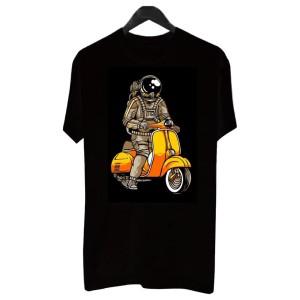 Harga bf004   kaos distro pria t shirt pria kaos pria astronaut riding | HARGALOKA.COM