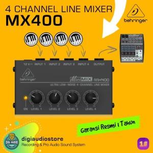 Harga audio mixer mini   4 channel   behringer micromix mx400   line | HARGALOKA.COM