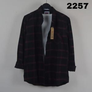 Harga kemeja flanel pria lengan panjang flanel cowok keren modern   kode 2258 | HARGALOKA.COM