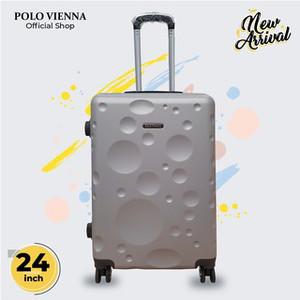 Harga koper bagasi murah polo viena model 007 24 inch abs fibergratis ongkir   | HARGALOKA.COM