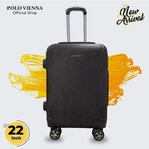 Harga koper kabin murah polo viena model 900 22 inch abs fiber koper kabin   | HARGALOKA.COM