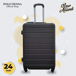 Harga koper bagasi murah polo viena model 001 24 inch abs fiber koper bagasi   | HARGALOKA.COM