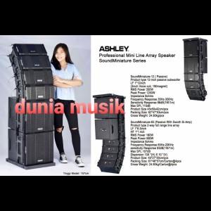 Harga speaker ashley line array mini soundminiature serie array 6 5inch | HARGALOKA.COM