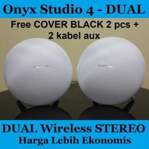 Harga harman kardon onyx studio 4 dual wireless   white ekonomis grs pt | HARGALOKA.COM