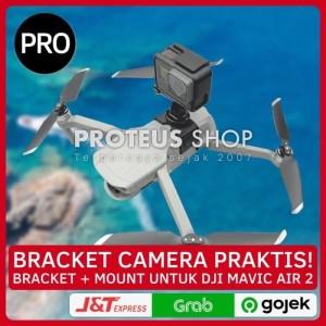Harga bracket action cam 360 camera dji mavic air 2 mount breket   HARGALOKA.COM