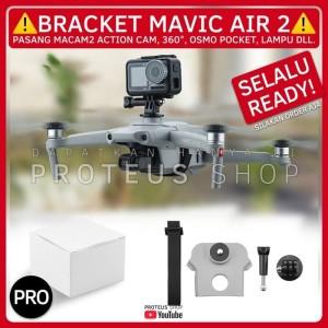 Harga bracket mount screw action camera cam drone dji mavic air   HARGALOKA.COM