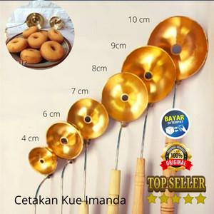 Harga cetakan kue murah khusus cetakan donat kualitas super   4 cm | HARGALOKA.COM
